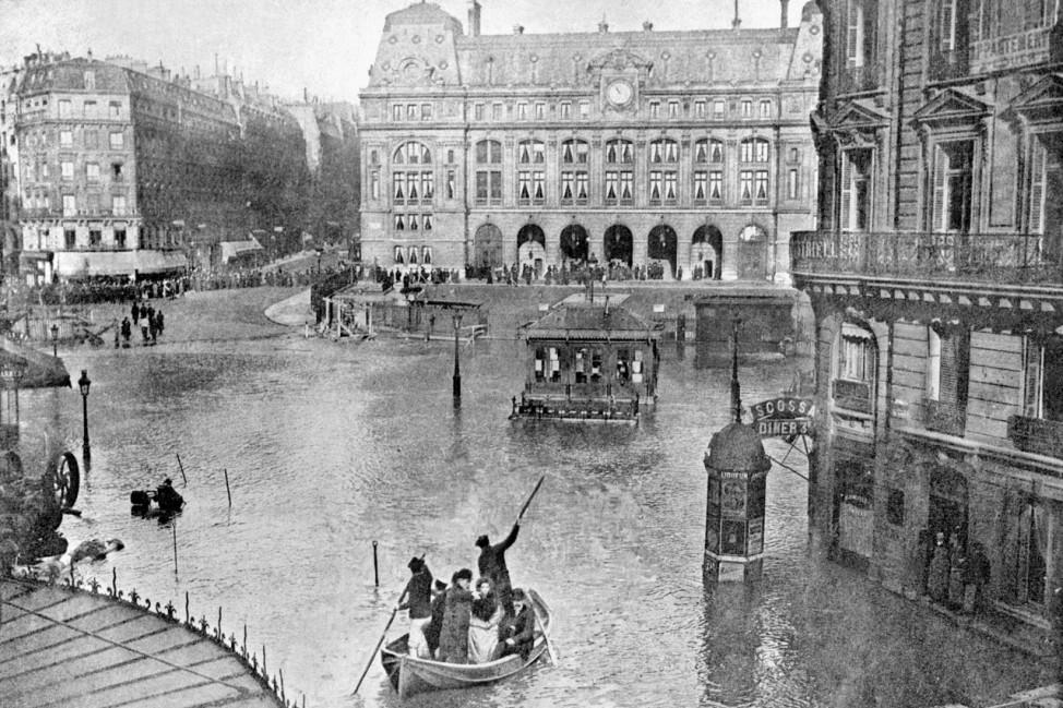 FRANCE-GREAT FLOOD-HISTORY-PARIS