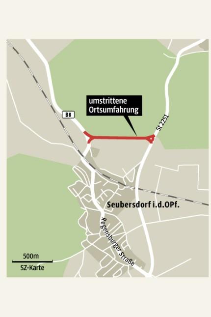 Umgehung Seubersdorf Info-Grafik