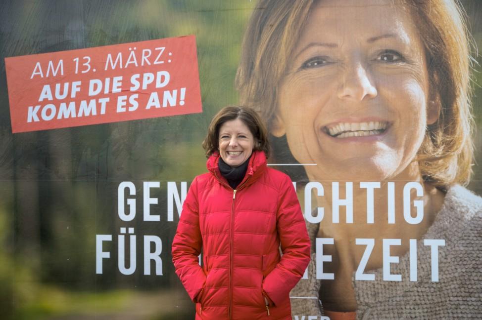 Vor der Landtagswahl Rheinland-Pfalz - Dreyer