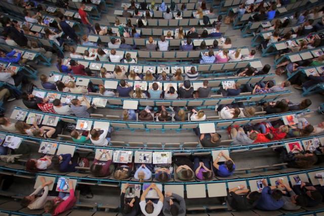 Erstsemester in Mainz