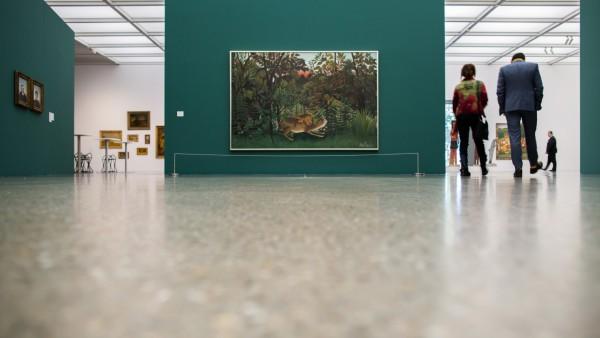 Pk zur Ausstellung 'Der Schatten der Avantgarde'