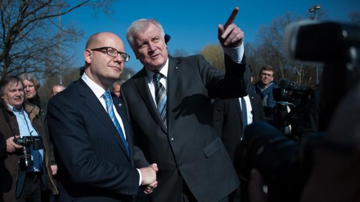 Tschechischer Ministerpräsident besucht Bayern