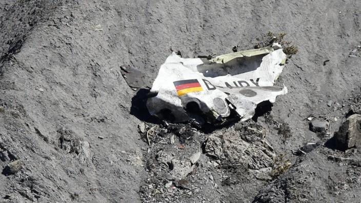Germanwings-Absturz 2015 - Absturzstelle