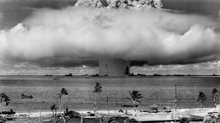 Operation Crossroads am 25. Juli 1946