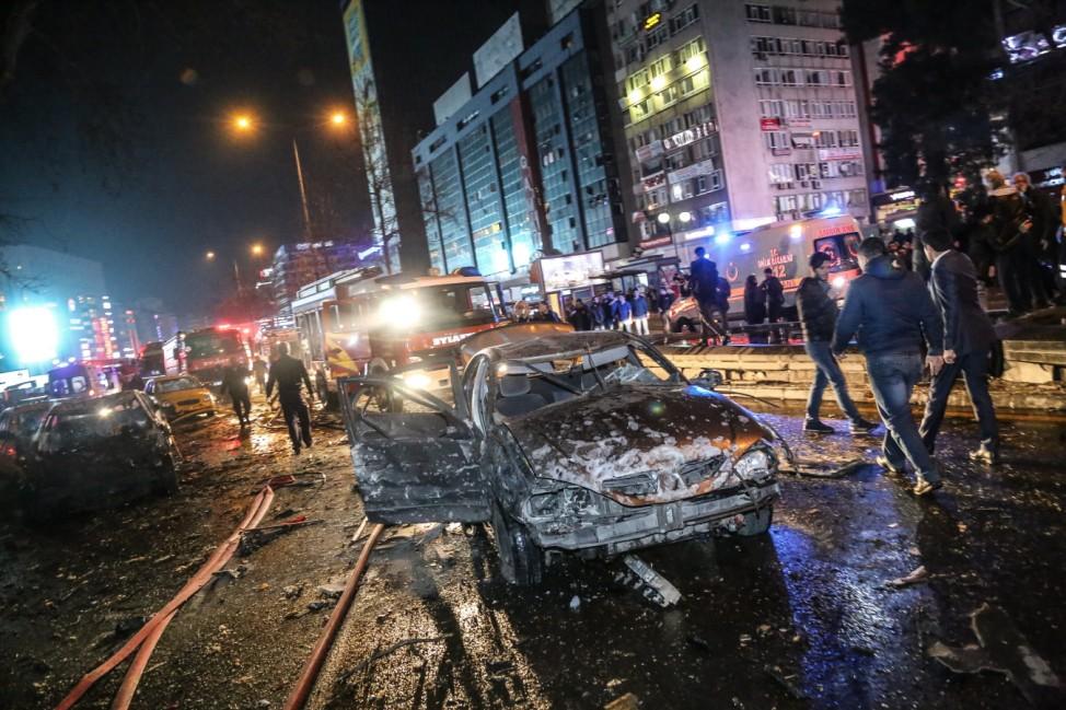 Car Bomb Kills 27 in Turkish Capital Ankara