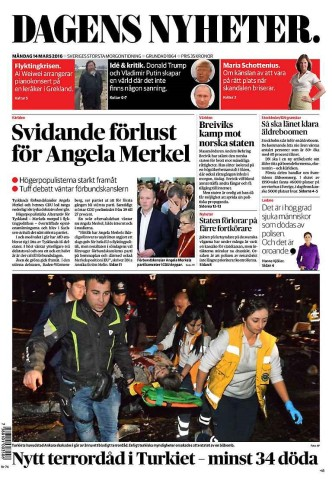 Dagens Nyheter Landtagswahlen
