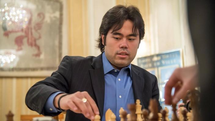 Zuerich 13 02 2016 Zurich Chess Challenge 2016 Hikaru Nakamura USA Elo 2787 PUBLICATIONxNOTxIN