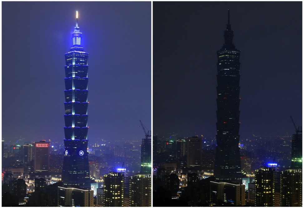 Taiwan Earth Hour 2016