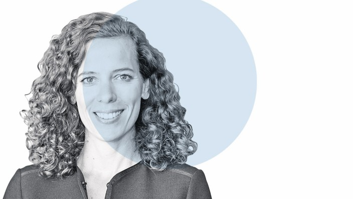 """Nahaufnahme: """"Ratenzahlungen im Internet waren ziemlich lange eine totale Vollkatastrophe."""" Miriam Wohlfahrt."""