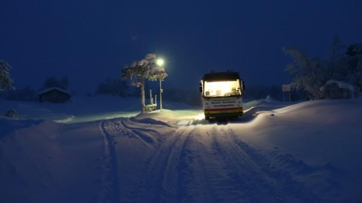 Bücherbus Finnland