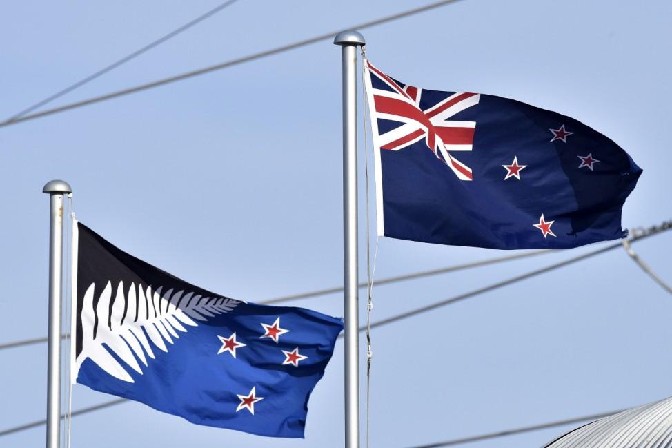 Flagge Neuseeland New Zealand
