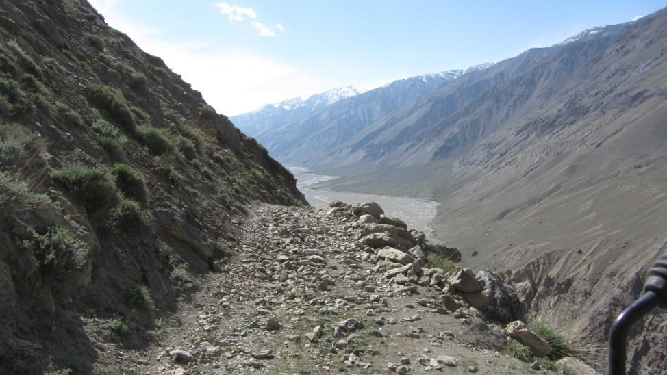 Abenteuerreise Sibirien Wolfgang Klentzau, Bartang-Tal im Pamir-Gebirge