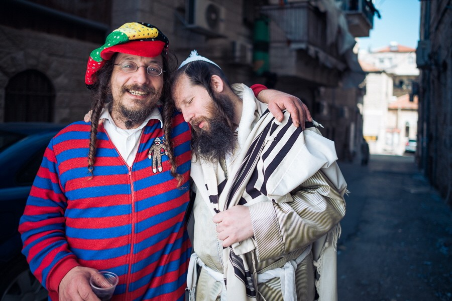 Purim-Fest in Jerusalem 2015