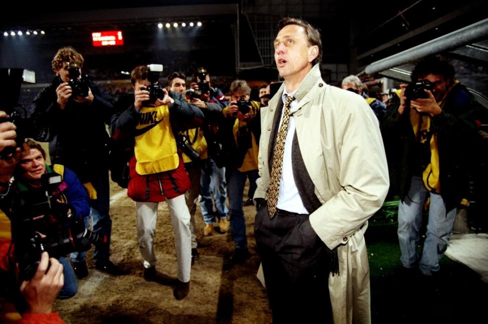 Johan Cruyff of Barcelona; Cruyff
