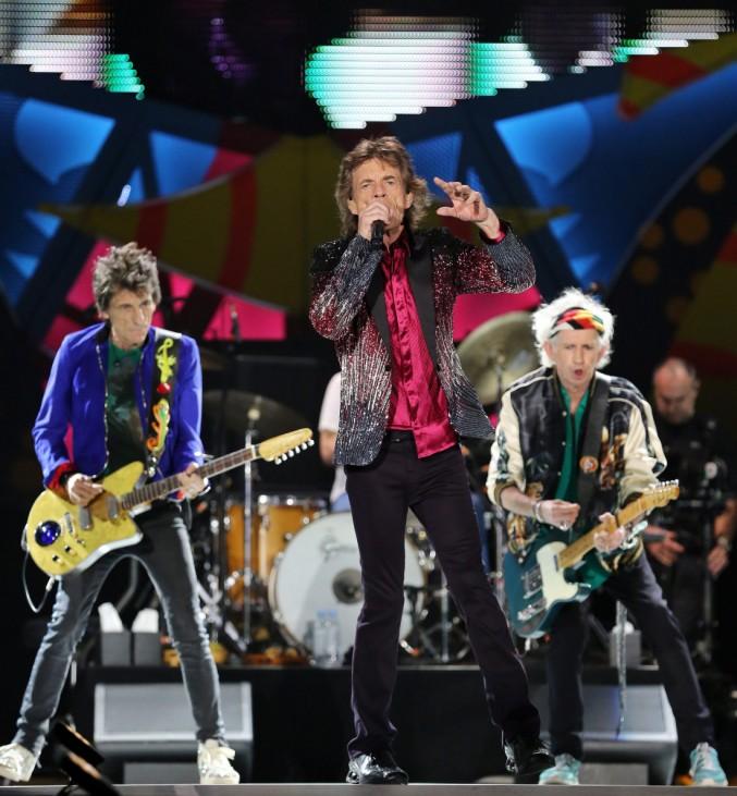 Rolling Stones concert in Cuba