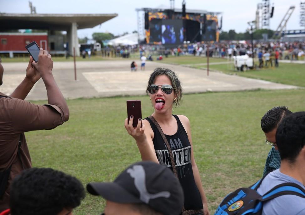 Havana Prepares For Rolling Stones Concert