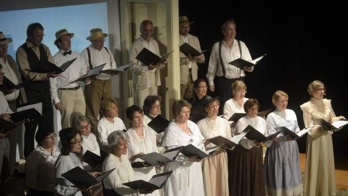 Konzert: Der Bel-Canto-Kammerchor beim Wolf-Ferrari-Abend.