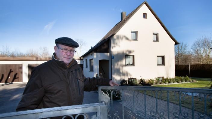 Schwarzbau-Siedlung Schwarzhölzl/Dratfeld im äußersten Feldmoching