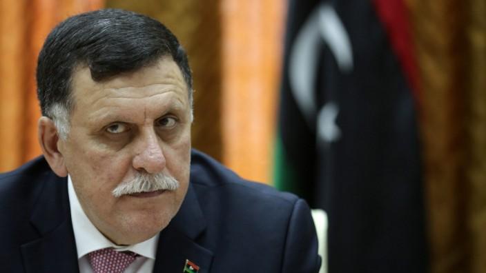 Fayez Serraj from the UN brokered Libyan unity government