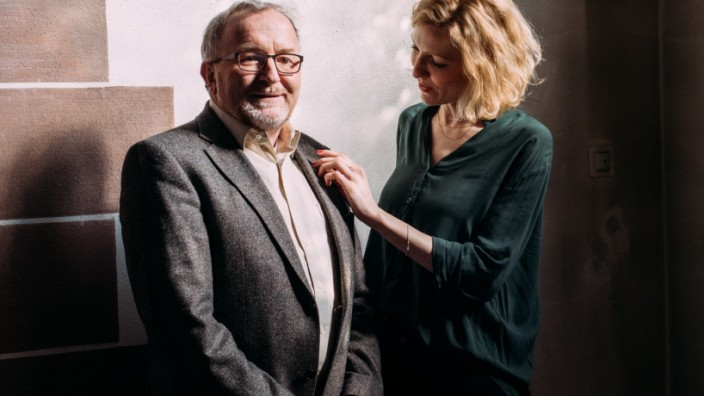 Christiane Lutz und Vater Lutz