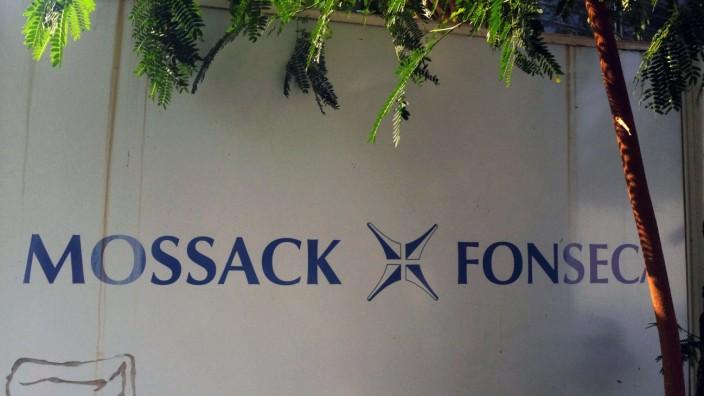 Panama Papers: Vor dem Büro von Mossack Fonseca in Panama-Stadt.