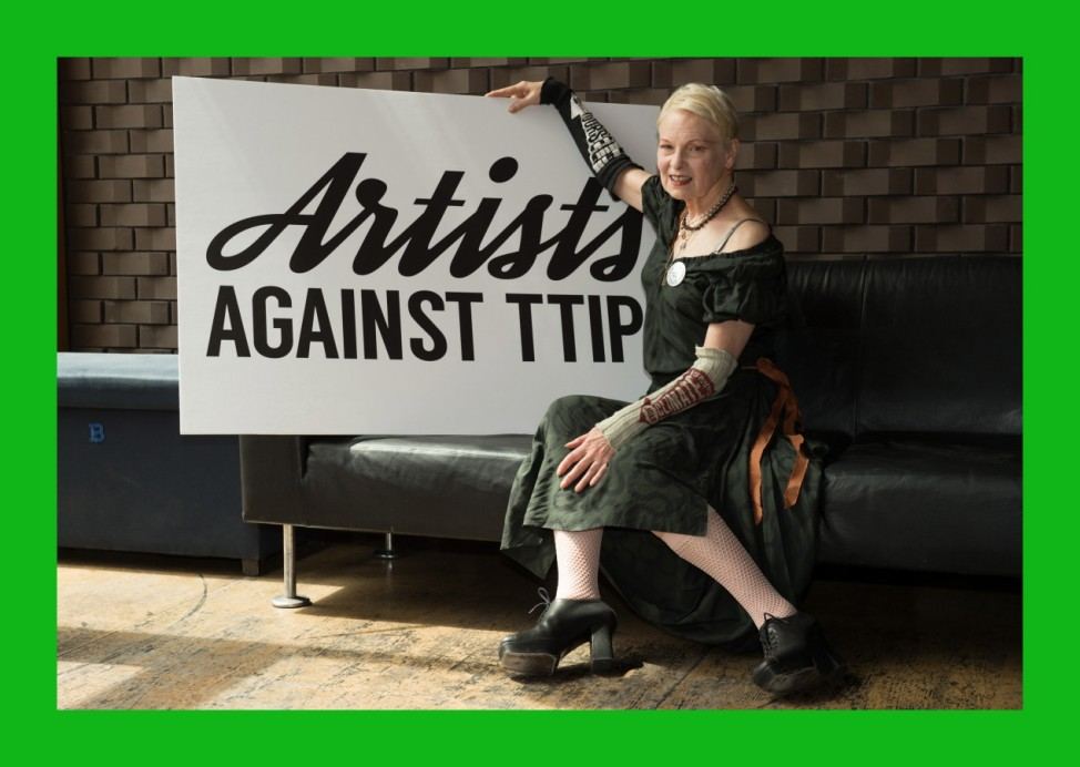***BESTPIX***Artists Against TTIP Photocall