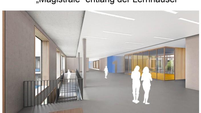 """Am Hart: Das Gymnasium an der Knorrstraße trägt zwar den Beinamen """"Eliteschule des Sports"""", """"es kann aber wirklich jeder zu uns kommen"""", sagt der Schulleiter."""