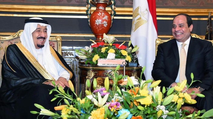 King Salman of Saudi Arabia visits Egypt