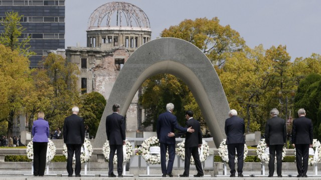 G7 Foreign Ministers meeting in Hiroshima