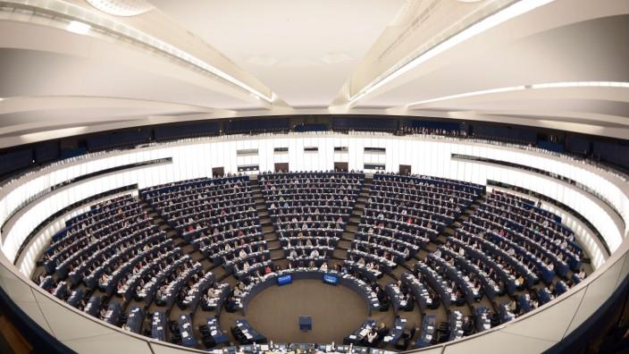 Panama Papers: Blick ins Europäische Parlament in Straßburg