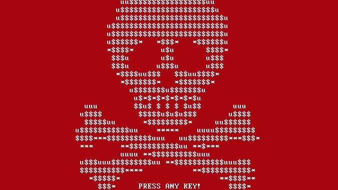 Trojaner Petya: In die Falle getappt: So sieht es aus, wenn Erpressersoftware einen PC gekapert hat.
