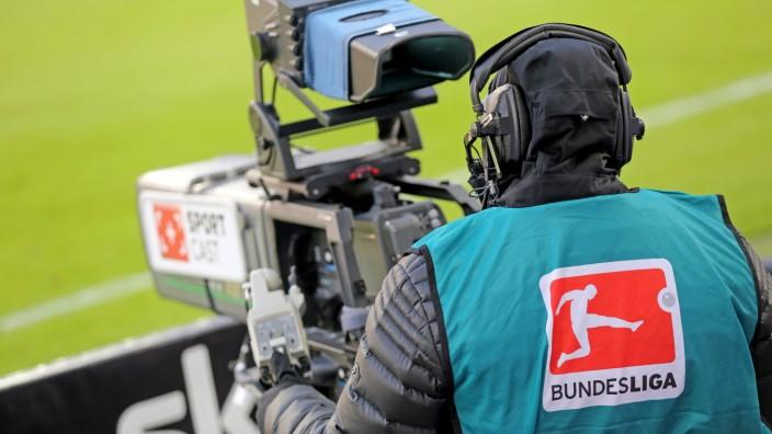 Bundesliga: TV-Aufnahmen im Stadion