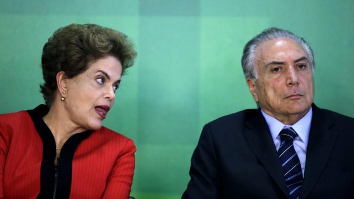 Coalition partner abandons Brazil's Rousseff