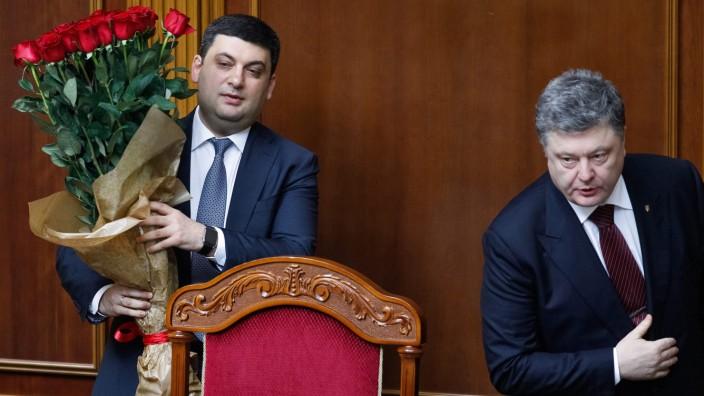 Ukrainian Parliament has elected Volodymyr Groysman as the new co