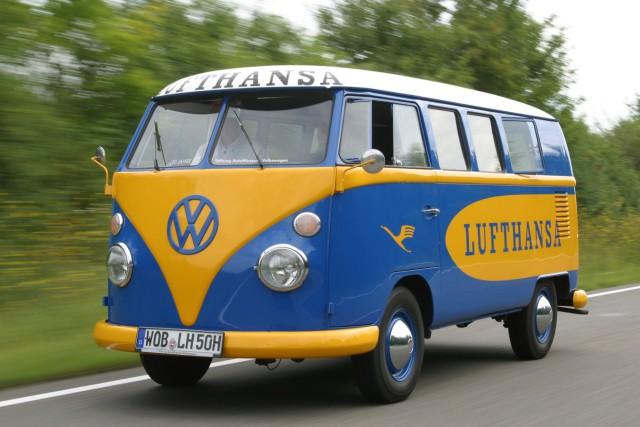 VW T1 Bulli Lufthansa