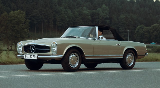 Mercedes SL Pagode Front Seite Standbild