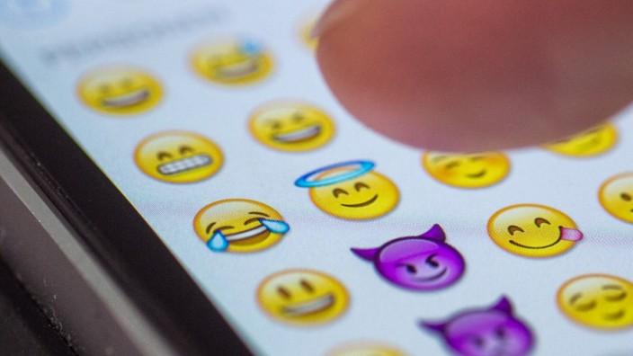 Freudentränen-Emoji