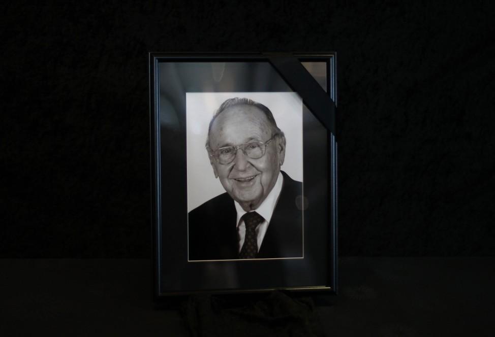 Staatsakt für verstorbenen früheren Außenminister Genscher