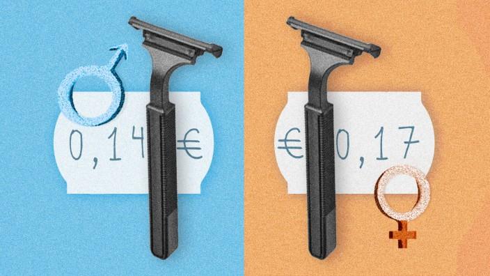 Die Recherche: Gleicher Rasierer, anderer Preis.