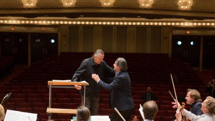 Mariss Jansons und Riccardo Muti in Chicago