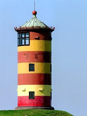 Leuchturm am Pilsumer Watt