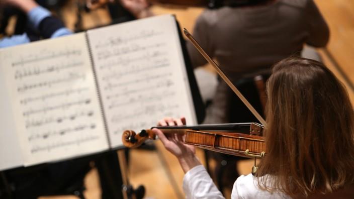 Auftritt des BR Symphonierorchesters in München, 2015