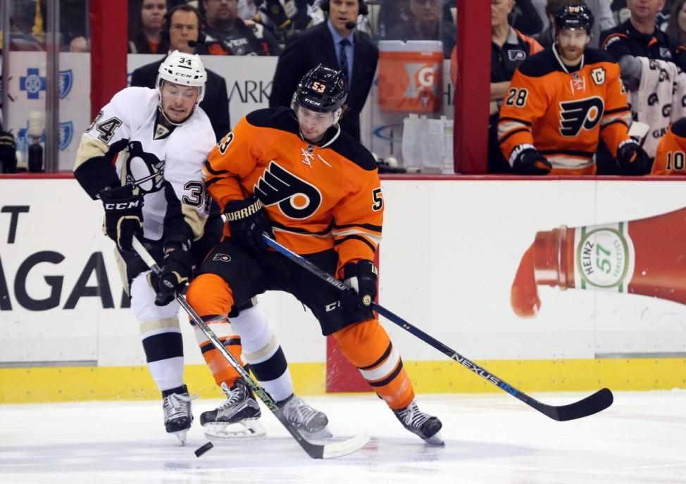 NHL: Philadelphia Flyers at Pittsburgh Penguins