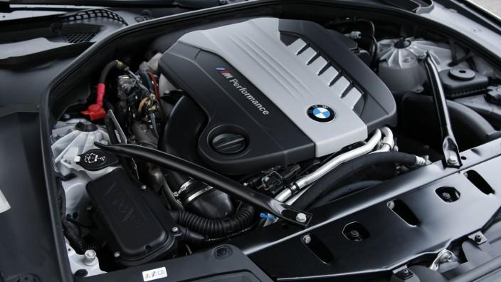 Der Dieselmotor des BMW M550d xDrive.