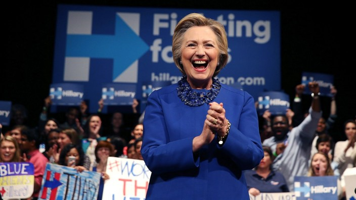 Hillary Clinton Holds Get Out The Vote Rally In Delaware