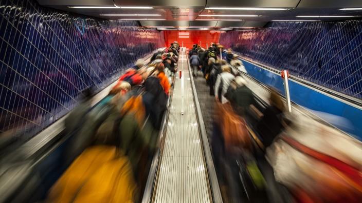 U-Bahn Haltestelle Marienplatz