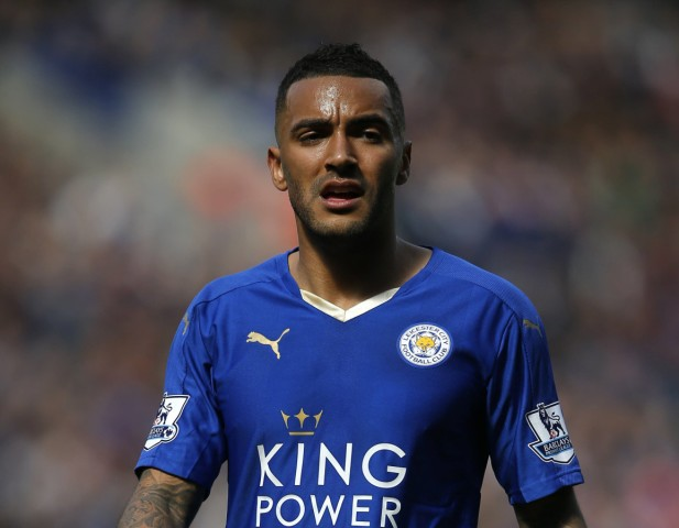 Danny Simpson of Leicester City during the Barclays Premier League match at The King Power Stadium; Simpson