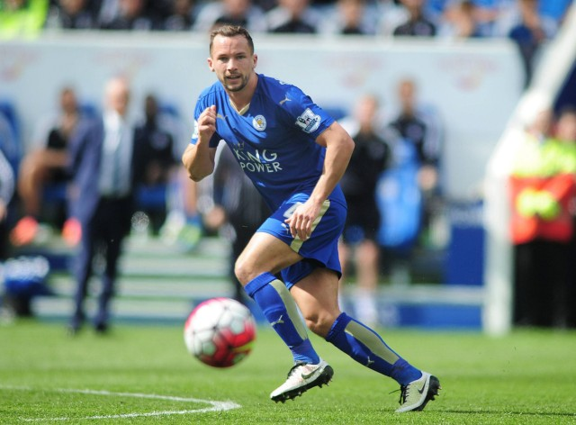 Football 2015 2016 Premier League Leicester City vs West Ham United Danny Drinkwater of Leice; drinkwater