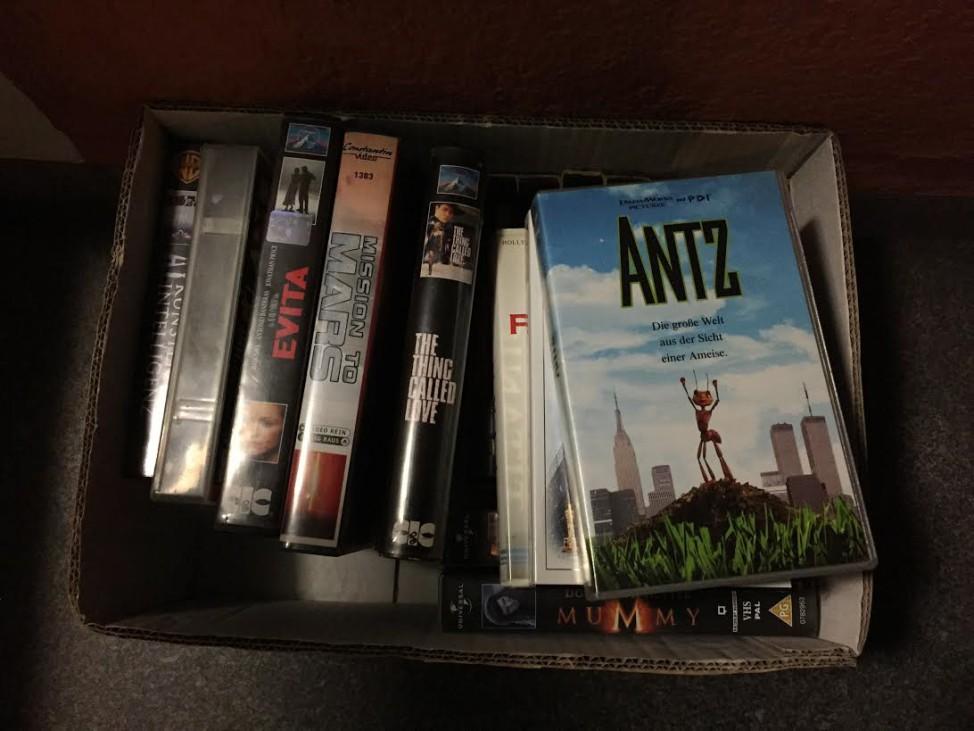 Videokassetten zu verschenken Sperrmüll München
