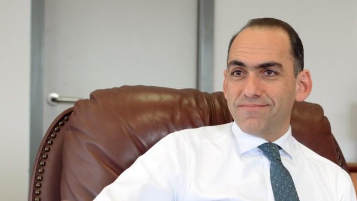 Harris Chr. Georgiades, Finanzminister, Zypern